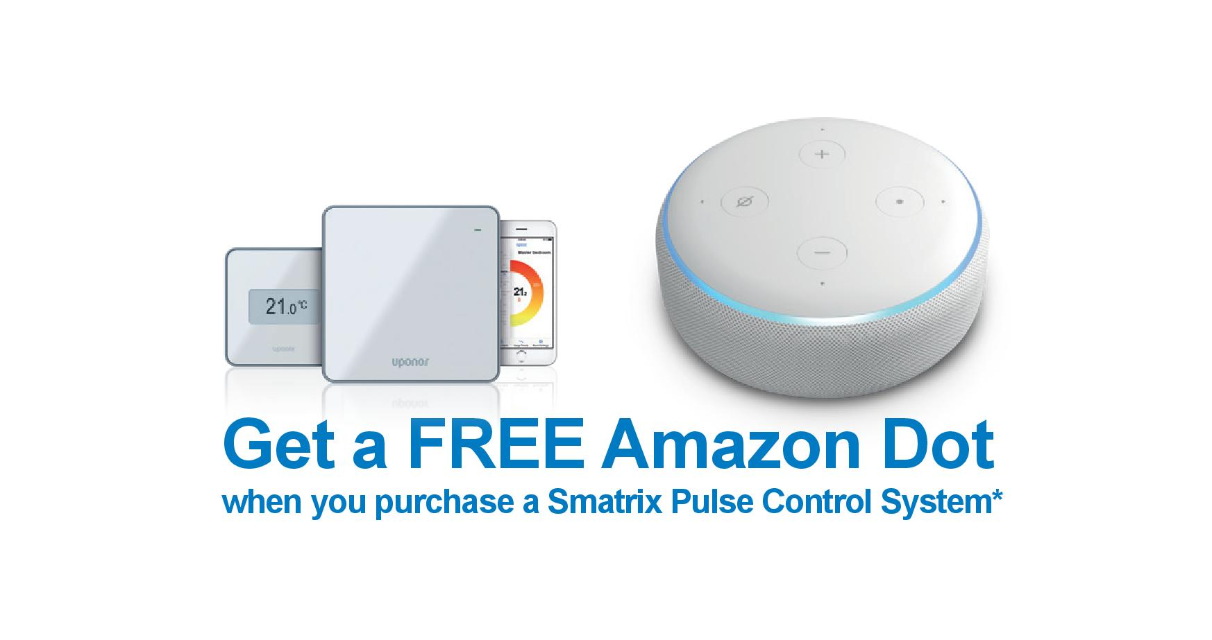 Uponor Amazon Dot Deal