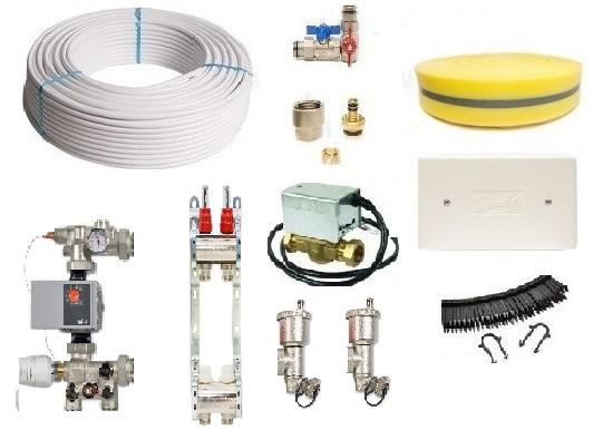 Image 1 of Screed 1 Zone Underfloor Heating Pack