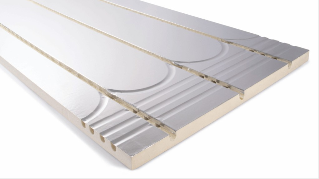 Cellecta 25mm XPS Foiled Floating Floor Panel for 16mm Pipe