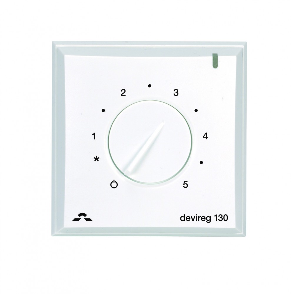 Image 1 of DEVIreg 130 Wall Mounted Dial Thermostat