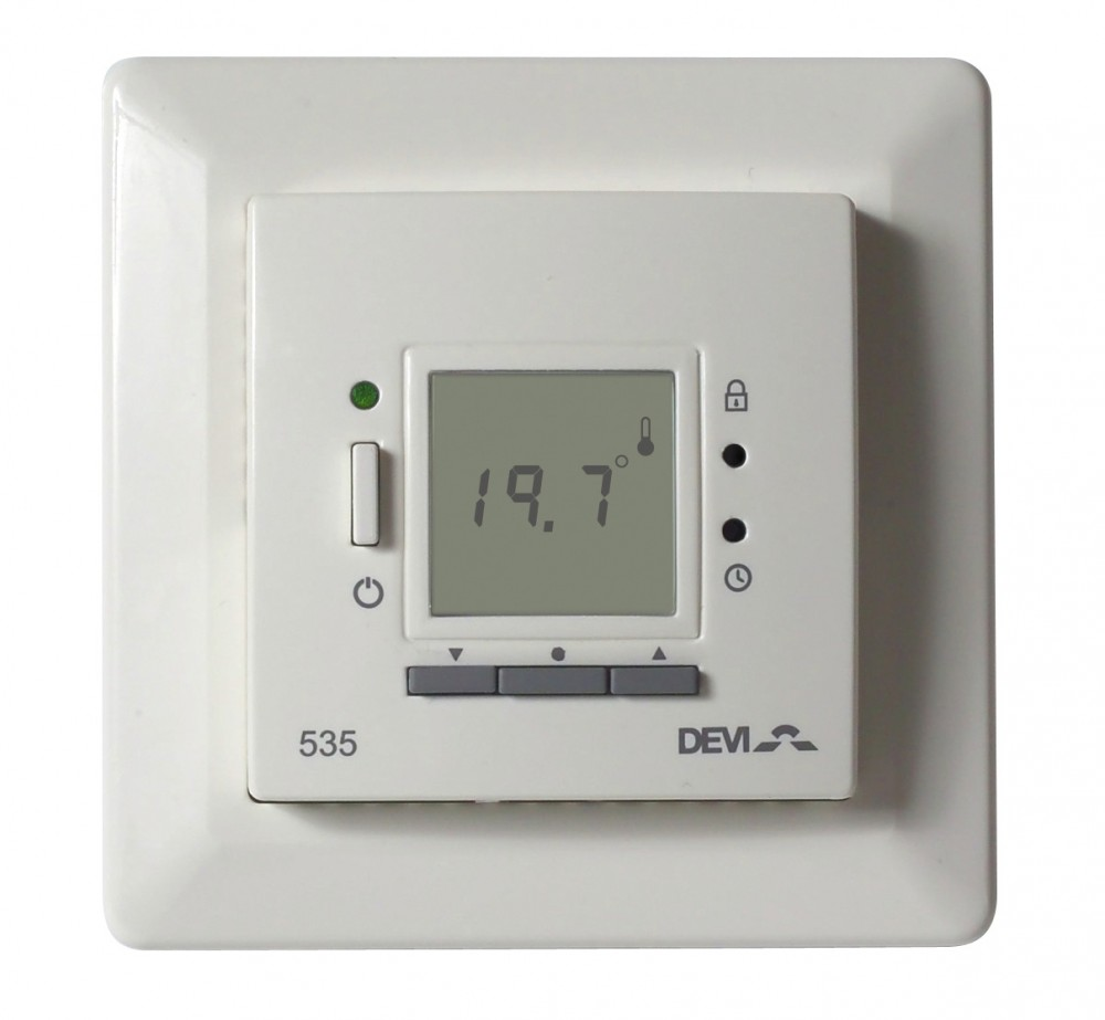 Image 1 of DEVIreg 535 - Flush Mounted Programmable Thermostat