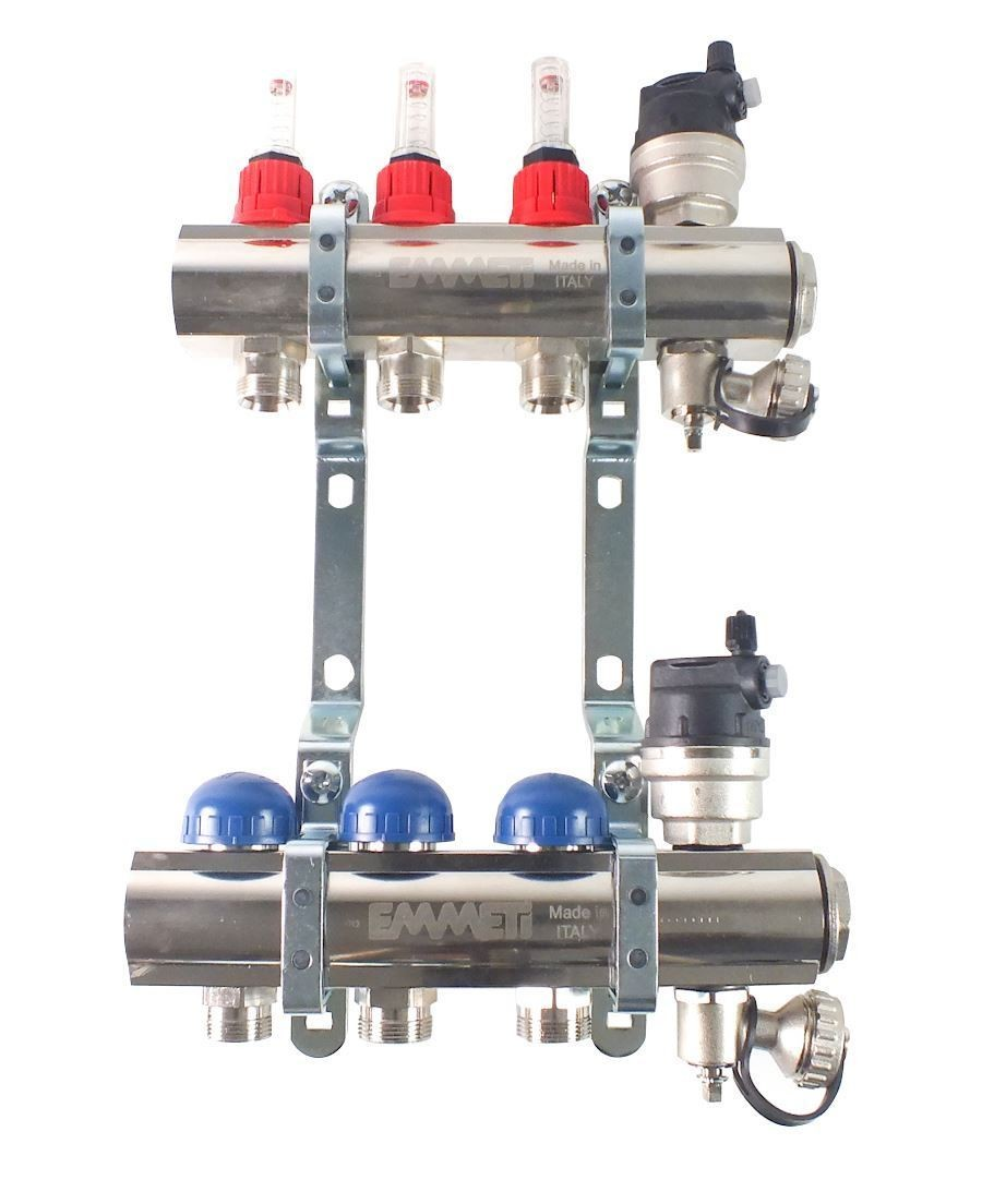 Image 1 of Emmeti 3 Port Manifold