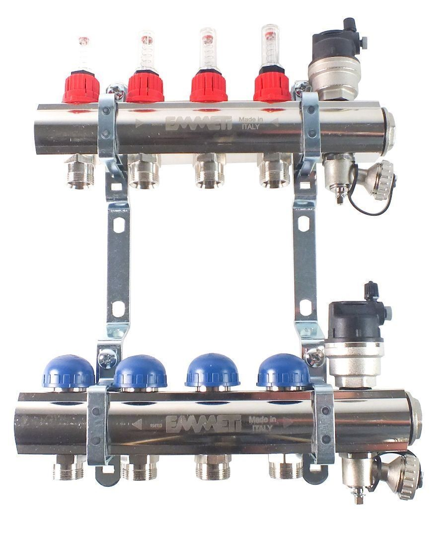 Image 1 of Emmeti 4 Port Manifold