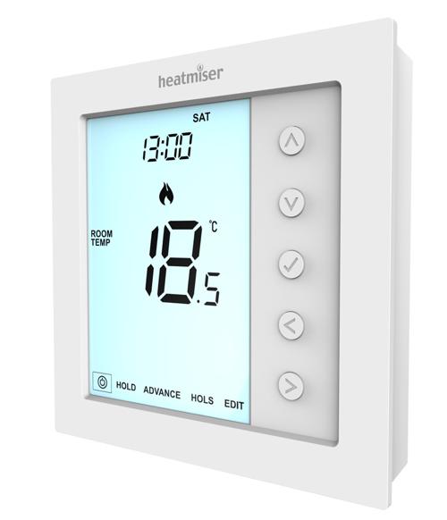 Heatmiser Edge - Modbus Multi Mode Programmable Room Thermostat