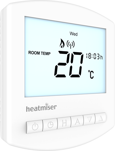 Heatmiser Multi Mode Slimline RF Wireless Thermostat