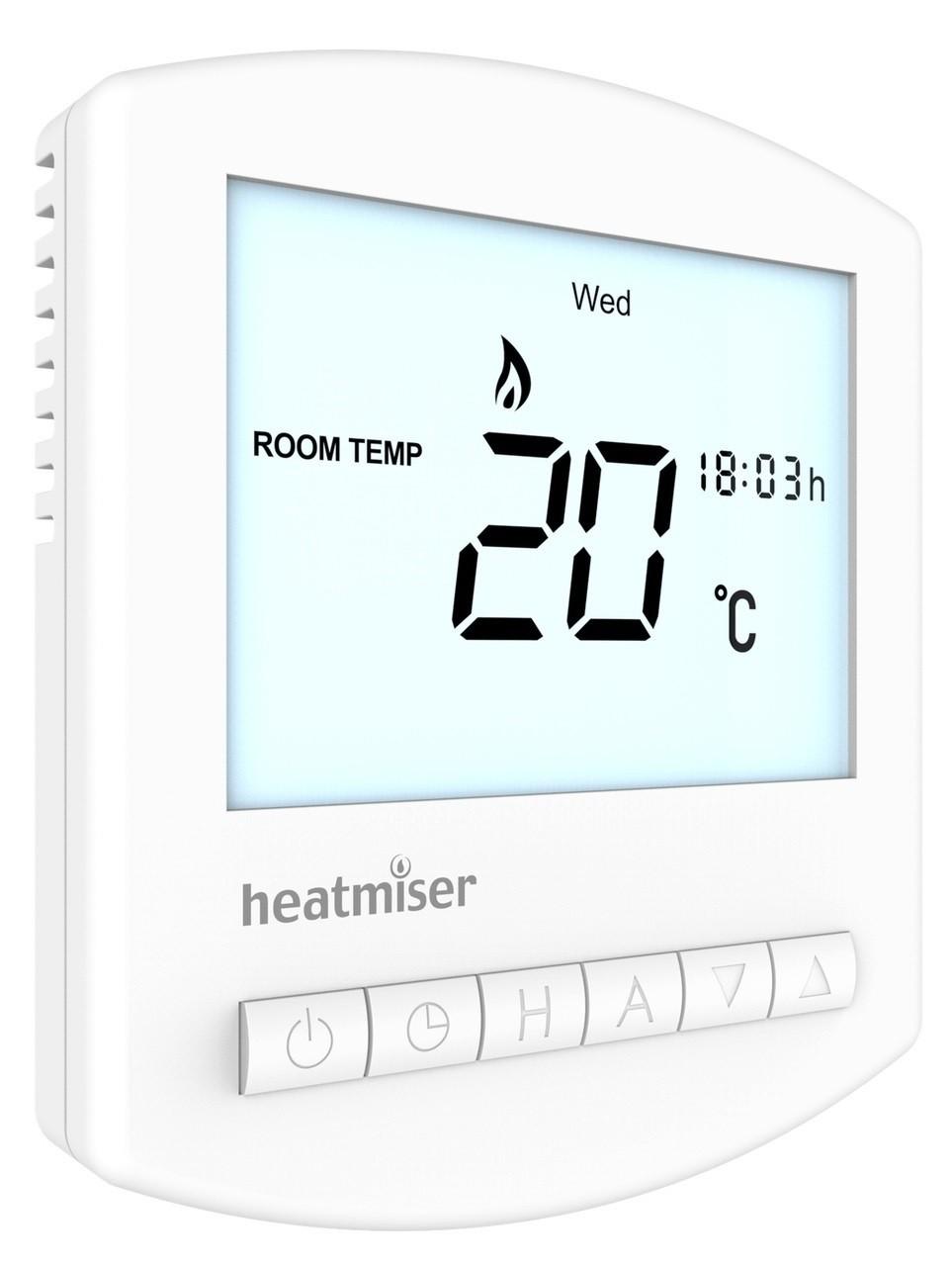 Image 1 of BULK BUY Heatmiser Slimline Thermostat v3