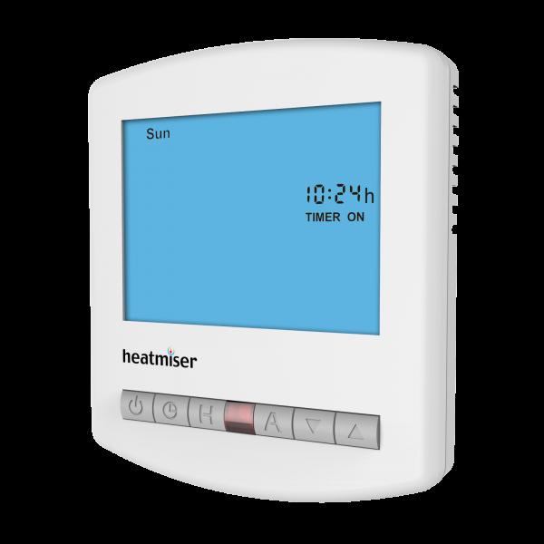 Heatmiser TM1-N 12v Network Single Channel Time Clock Front