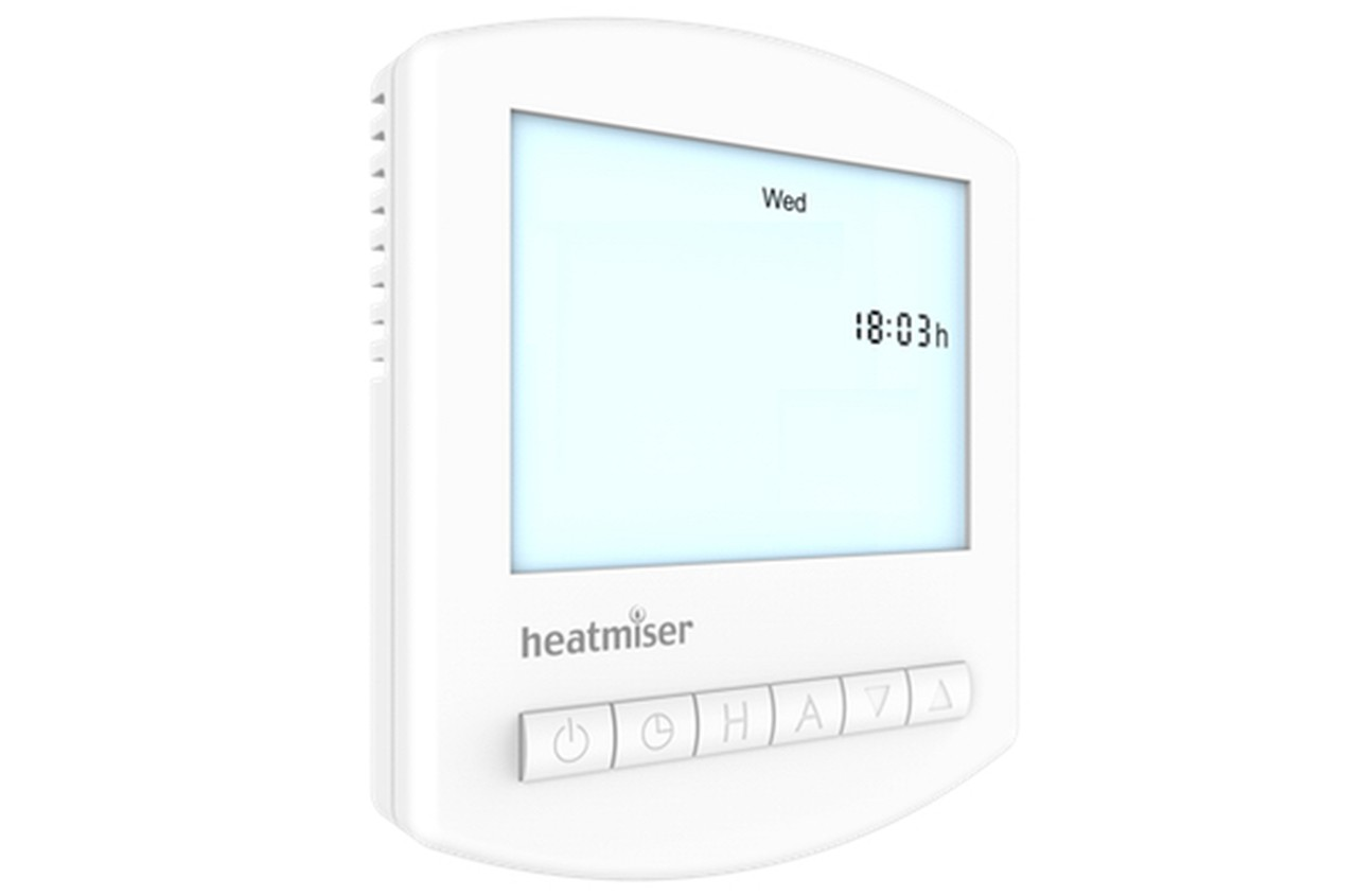Image 1 of Heatmiser TM1-N 12v Network Single Channel Time Clock