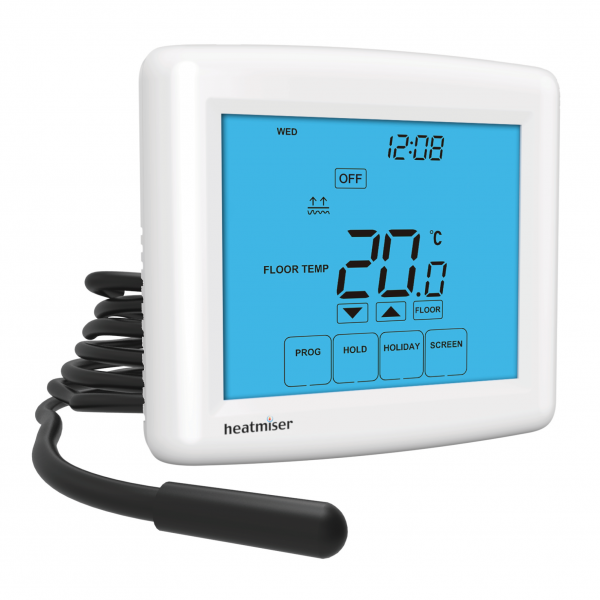Heatmiser Touch-E Touchscreen Electric Floor Heating Thermostat