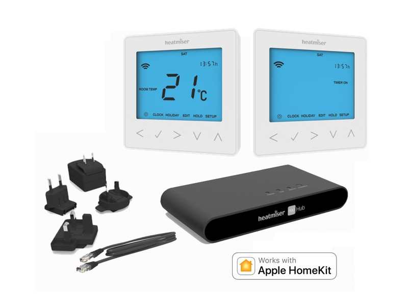 Image 1 of Heatmiser NeoKit 2 Gen 2 Heating & Hot Water HomeKit-Enabled