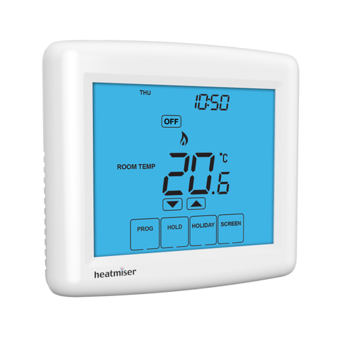 Image 1 of Heatmiser Touch-N - 12v Network Programmable Room Thermostat