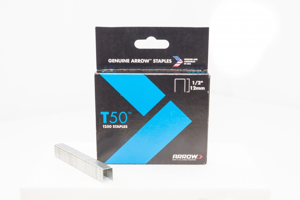 Image 1 of Arrow Staples T50 Box 1250