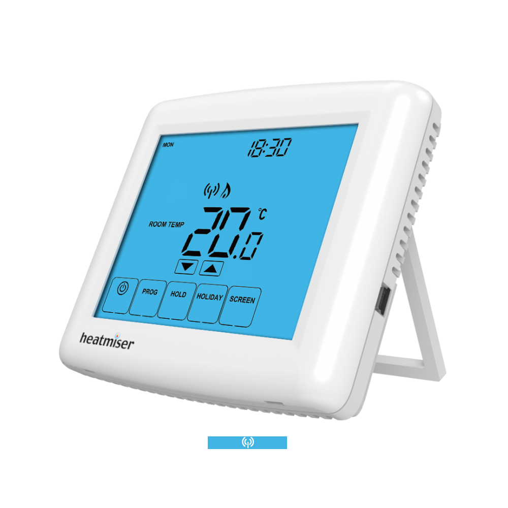 Image 1 of Heatmiser Touch-RF Multi Mode Touch Screen Wireless Thermostat