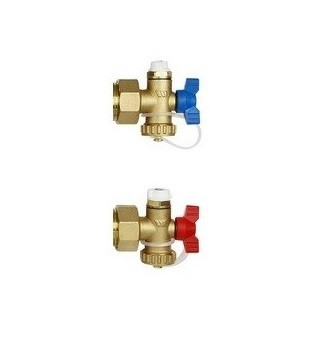 Image 1 of Polypipe Manifold End Set Pair PB127ES