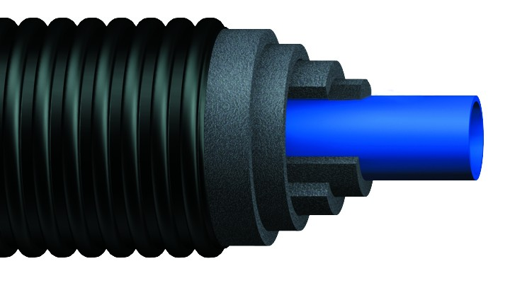 Uponor Ecoflex Supra Pre-Insulated Pipe