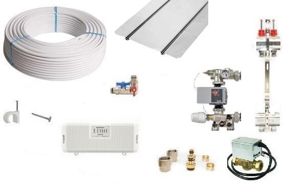 Image 1 of Timber 3 Zone Underfloor Heating Pack