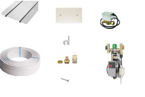 Image 1 of Timber Single Area Underfloor Heating Pack