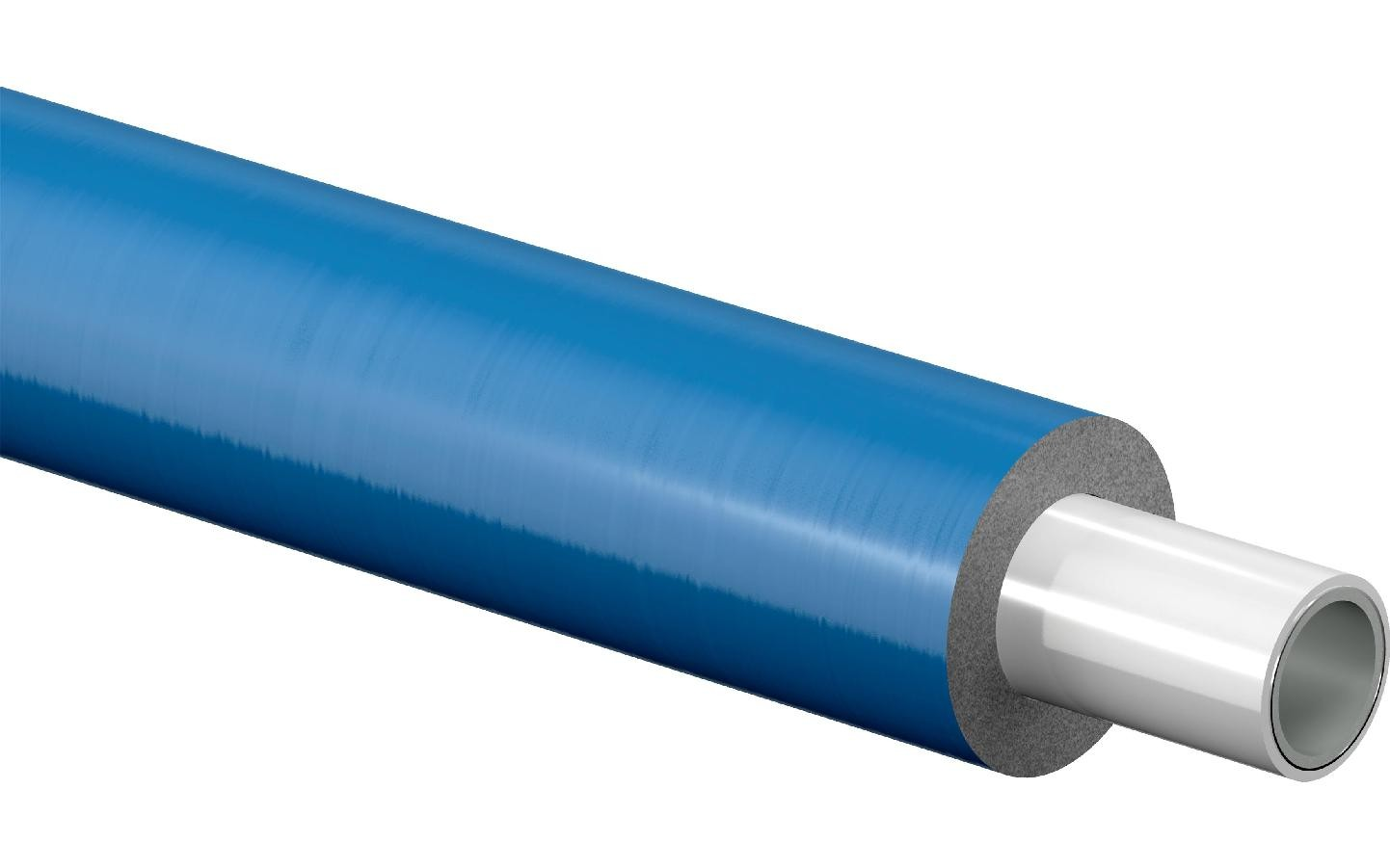 Image 1 of Uponor  1013625 16x2mm MLC Pipe Pre-insulated S9 (9mm Insulation)