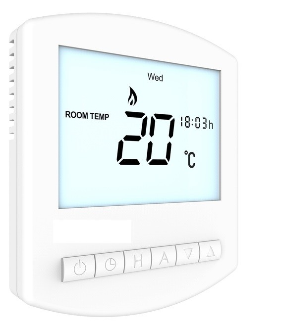 Uponor 1058425 T-26 Wired 230V Digital Programmable Thermostat