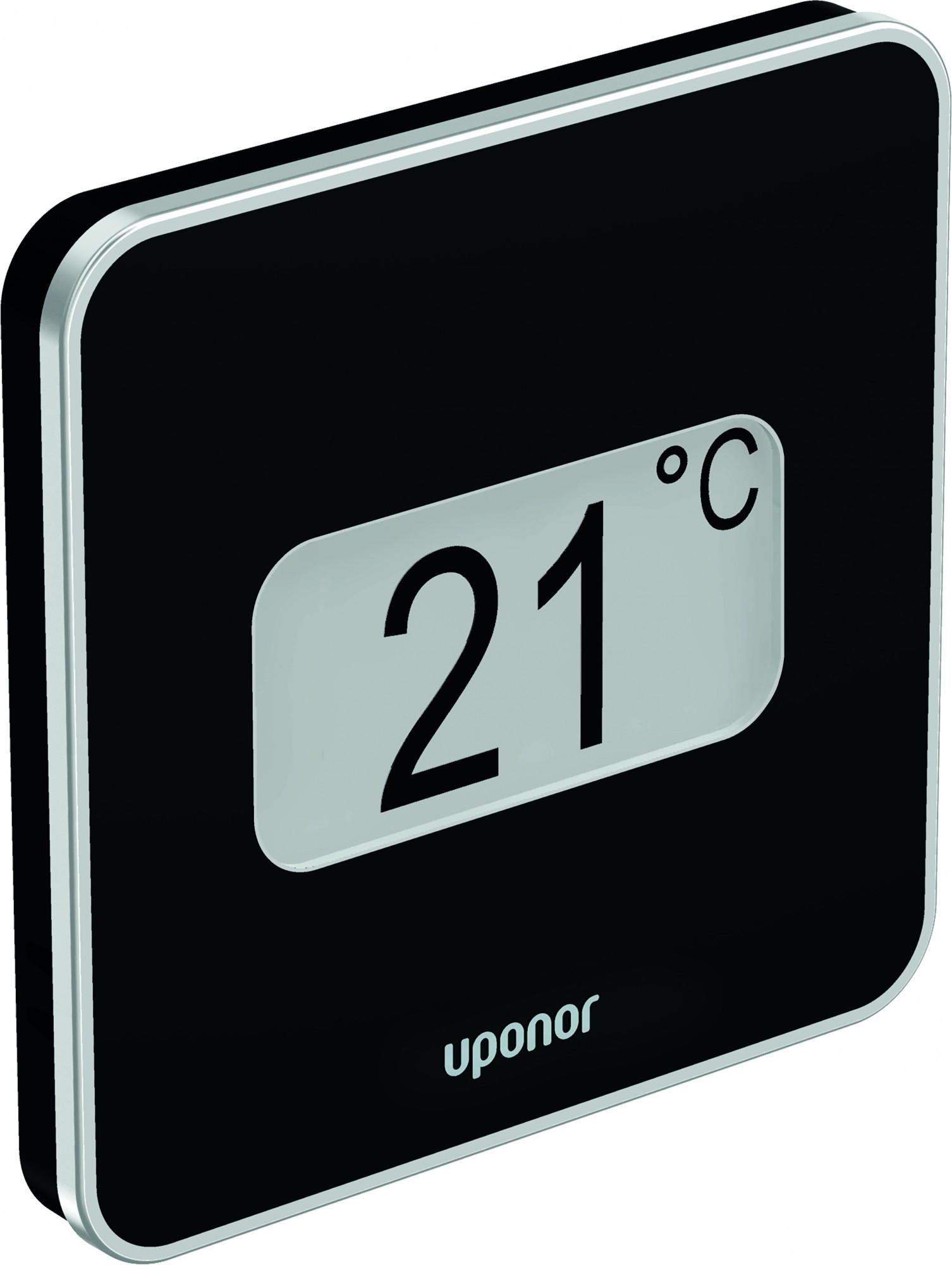 Uponor 1087817 Smatrix Style Wave Plus Thermostat Black