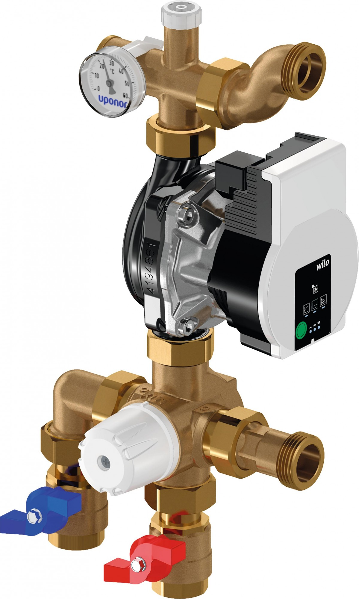 Uponor 1094185 Fluvia T Pump Group MPG-UK 15KW