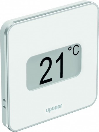 Uponor 1087816 Smatrix Style Wave Plus Thermostat White