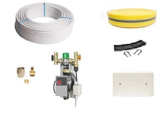 Image 1 of WARMUS Screed Single Area Underfloor Heating Kit