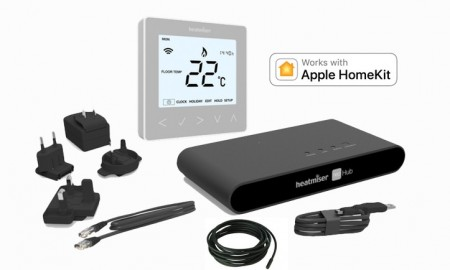 Heatmiser neoKit-E Gen 2 HomeKit-Enabled Silver