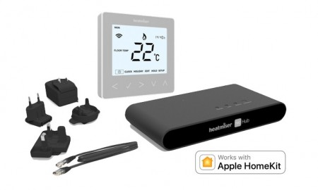 Heatmiser neoKit 1 Gen 2 HomeKit-Enabled Silver