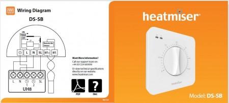 Heatmiser Ds Sb Set Back Thermostat Underfloor Store